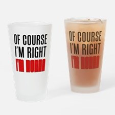 I'm Right Nonna Drinkware Drinking Glass