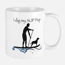 SUP PUP guy Mug