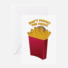 The Fries Greeting Cards