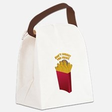 The Fries Canvas Lunch Bag