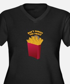 The Fries Plus Size T-Shirt