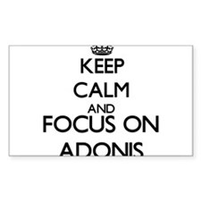 Keep Calm and Focus on Adonis Decal