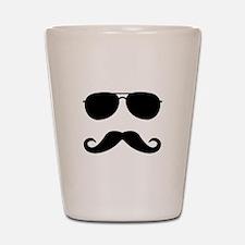 mustache_sticker.png Shot Glass