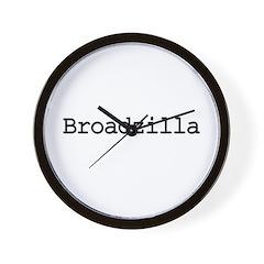 Broadzilla Wall Clock