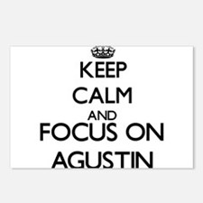 Keep Calm and Focus on Ag Postcards (Package of 8)