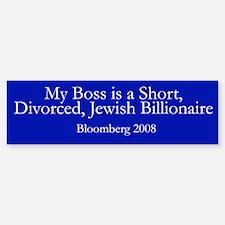 Bloomberg for President Bumper Bumper Bumper Sticker