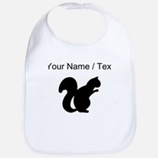 Squirrel Silhouette (Custom) Bib