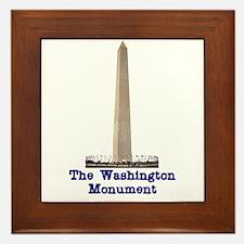 The Washington Monument Framed Tile