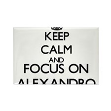Keep Calm and Focus on Alexandro Magnets