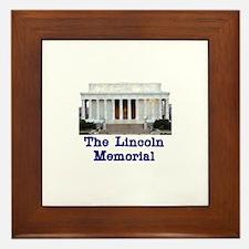 The Lincoln Memorial Framed Tile