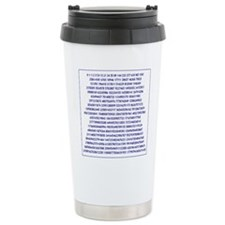Cute Fibonacci Travel Mug