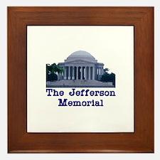 The Jefferson Memorial Framed Tile