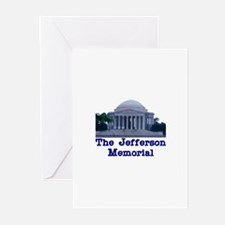 The Jefferson Memorial Greeting Cards (Package of