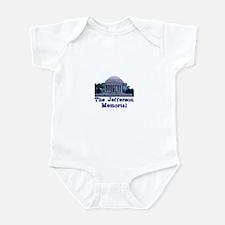The Jefferson Memorial Infant Bodysuit