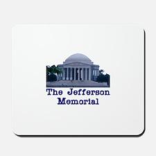 The Jefferson Memorial Mousepad