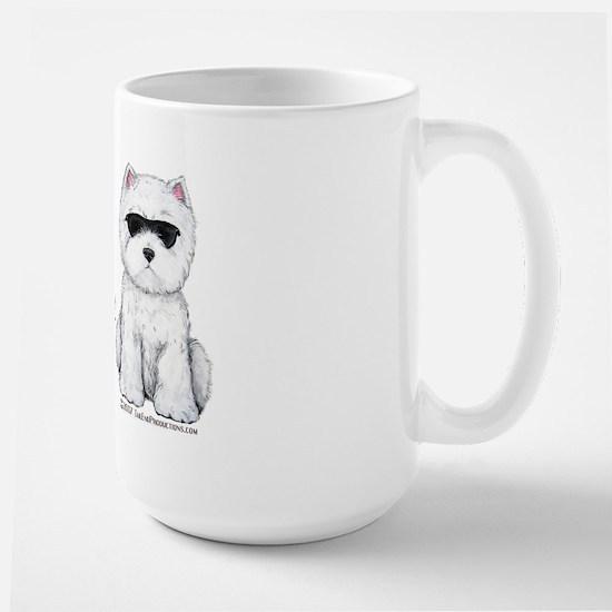 Life's Short Westie Large Mug