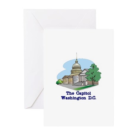 The Capitol . . . Washington Greeting Cards (Pack