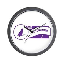 Make Tonkinese Wall Clock