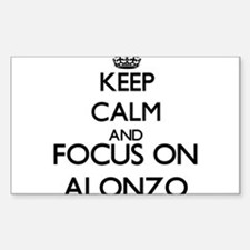 Keep Calm and Focus on Alonzo Decal