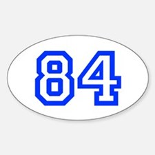 84 Decal