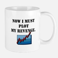 Plot My Revenge Mugs