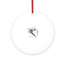 Beauty Essentials Ornament (Round)