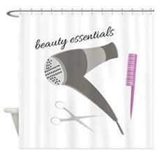 Beauty Essentials Shower Curtain