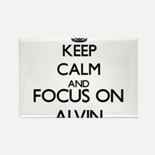Keep Calm and Focus on Alvin Magnets