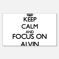 Keep Calm and Focus on Alvin Decal