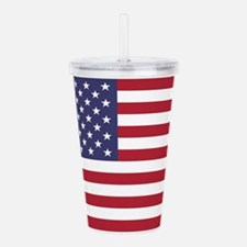US Flag Acrylic Double-wall Tumbler