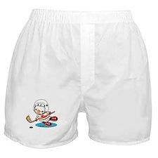 Canada Ice Hockey (1) Boxer Shorts
