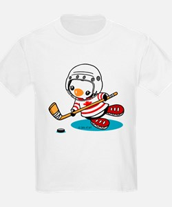 Canada Ice Hockey (1) T-Shirt