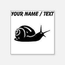 Snail Silhouette (Custom) Sticker