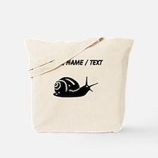 Snail Silhouette (Custom) Tote Bag