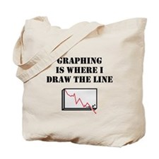 Graphing Tote Bag