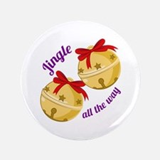 "Jingle Bells 3.5"" Button (100 pack)"