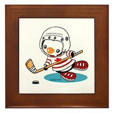 Canada Ice Hockey (1) Framed Tile
