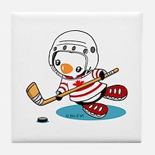 Canada Ice Hockey (1) Tile Coaster