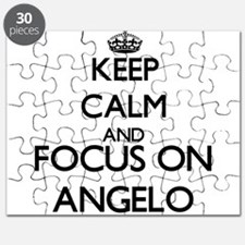 Keep Calm and Focus on Angelo Puzzle