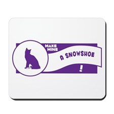 Make Snowshoe Mousepad