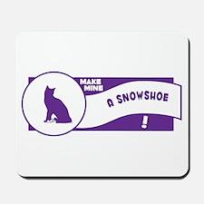 Make Snowshoe Mousepad