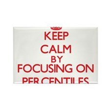 Keep Calm by focusing on Percentiles Magnets