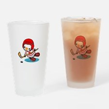 Canada Ice Hockey (2) Drinking Glass