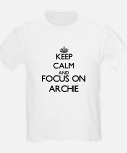 Keep Calm and Focus on Archie T-Shirt