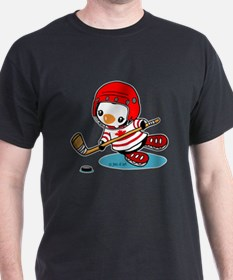 Canada Ice Hockey (2) T-Shirt