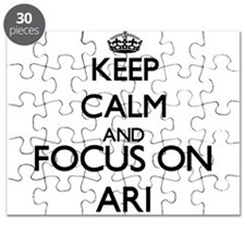 Keep Calm and Focus on Ari Puzzle