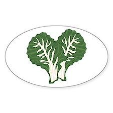 Kale Leaves Decal
