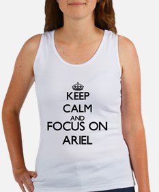 Keep Calm and Focus on Ariel Tank Top