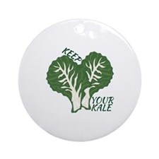 Keep Your Kale Ornament (Round)