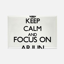 Keep Calm and Focus on Arjun Magnets
